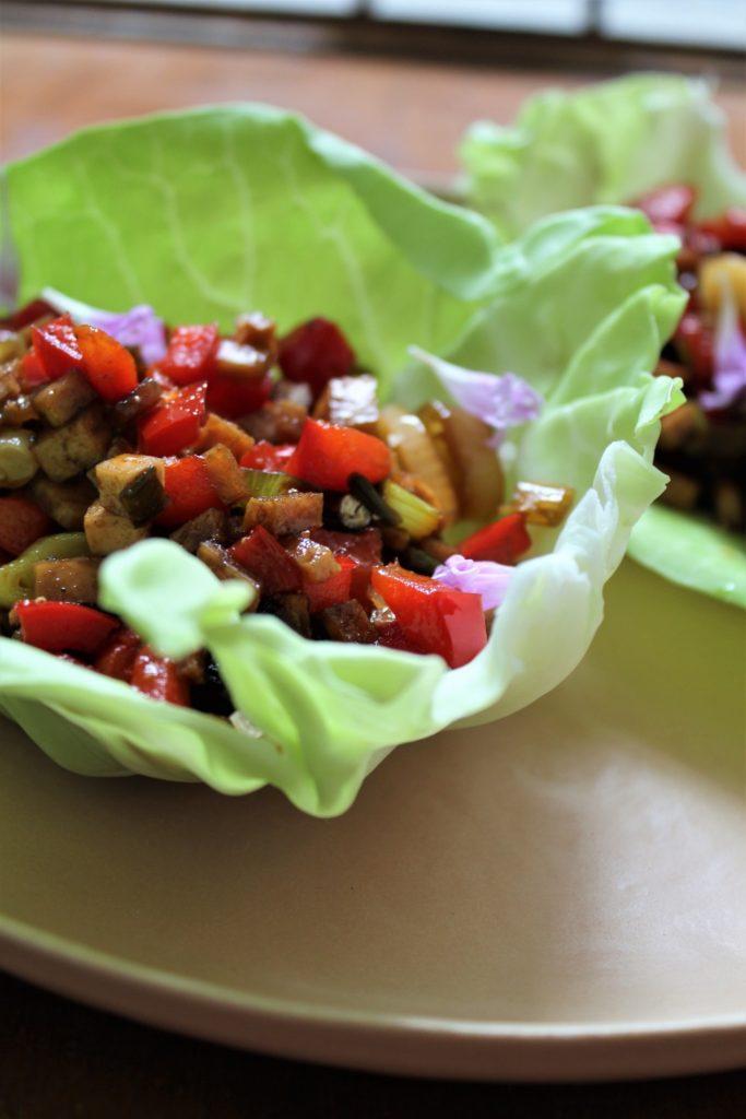 vegansk taco
