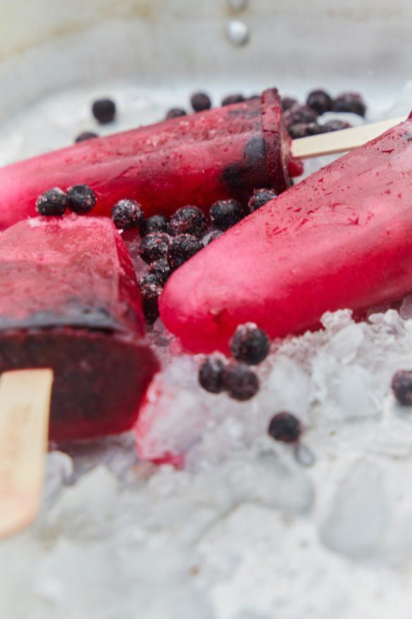 Hyldeblomst ispinde – kræver kun 2 ingredienser